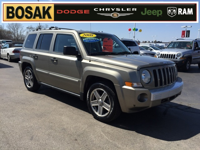 2008 jeep patriot limited 4wd 4d sport utility bosak. Black Bedroom Furniture Sets. Home Design Ideas